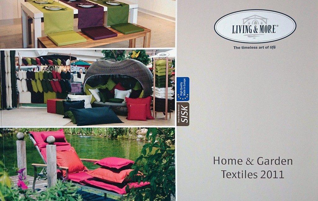Werbetexte für Wohntextilien-Katalog