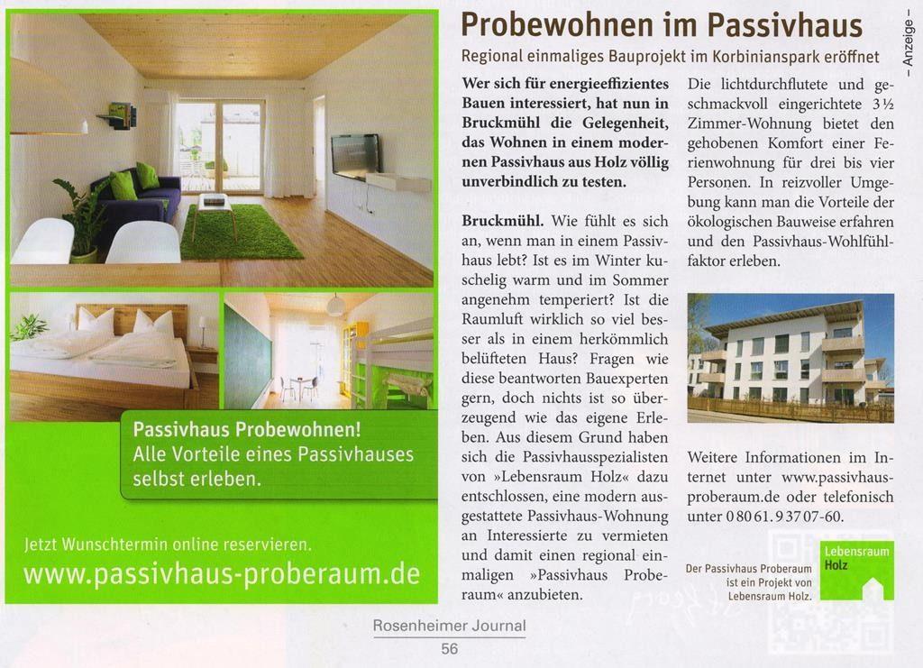 Texterstellung PR-Anzeige Passivhaus