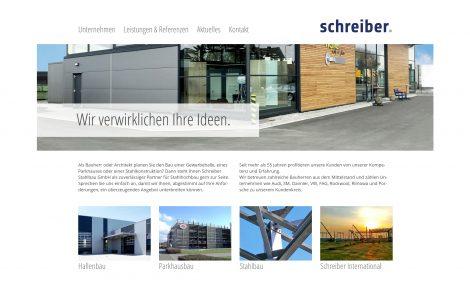 Webtexte für Schreiber Stahlbau